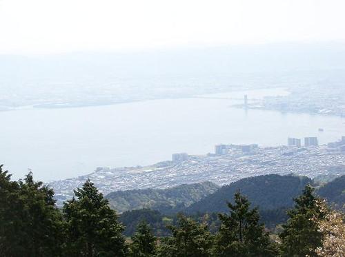 比叡山からの眺望